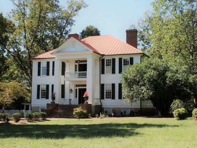 Photo for White columned antebellum home in downtown Eatonton