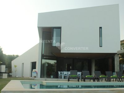 Photo for Minimalist villa near Pollença, with private pool, barbecue and wi-fi