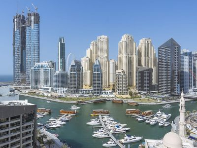 Photo for ★ Amazing View of Dubai Marina w/ Cosy Vibes!