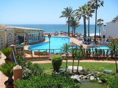 Photo for 3 bedroom Apartment, sleeps 6 in Mijas with Pool and Air Con