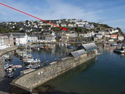 Photo for in the harbour , with sea, harbour and village views, courtyard garden, Wi-fi,