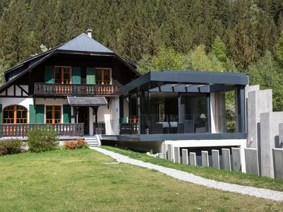Photo for Chalet Design & Tradition - exceptional view Mont-Blanc