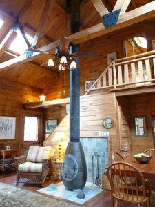 Photo for Acadia Cabin on 2 Secluded Wooded Acres near Bar Harbor