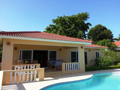 Beautiful Hillside Villa with Views, Private Garden and Salt Water Pool