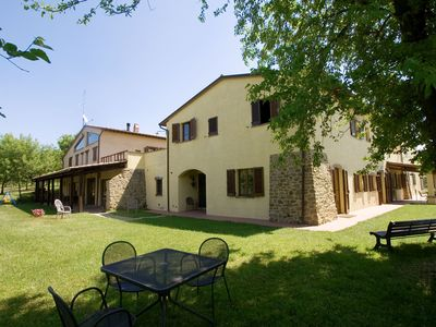 Photo for Holiday apartments in relais with swimming pool and tennis