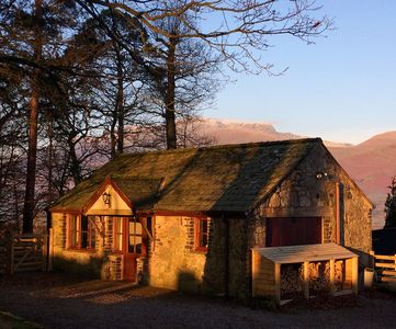 Photo for Character cottage with stunning mountain views in the Lake District