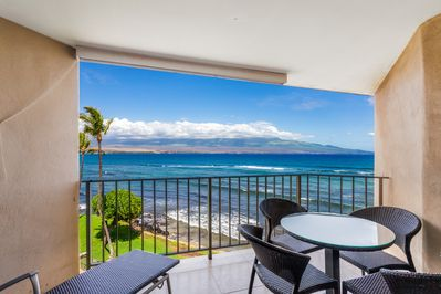Your view from the lanai!