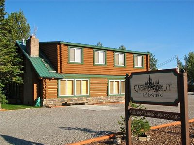 Photo for 6BR Cabin Vacation Rental in West Yellowstone, Montana