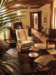 Spacious living & dining rooms.