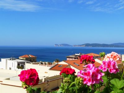 Photo for Top floor with panoramic views, a short walk from the promenade on the ramparts