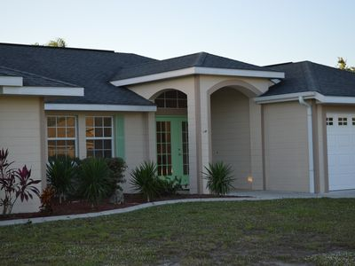 Photo for Spacious 4 bedroom home on a canal in the heart of Southwest Florida.