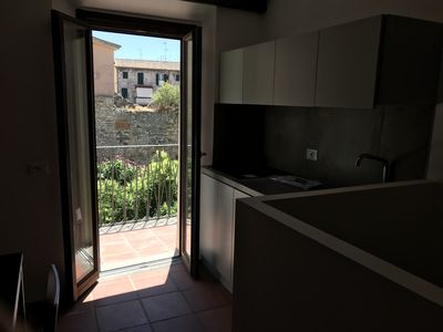 Photo for Mini-apartment with a view of ancient Terracina