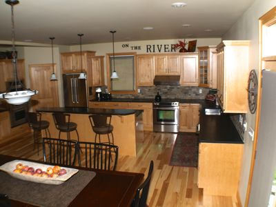 Kitchen with Two Ovens, Walk-in Pantry and all the Amenities.