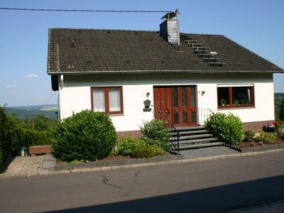 Photo for A spacious 10 person holiday home with views of the Rhine Valley.