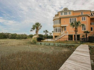 Photo for Beautiful 4 Bdrm Oceanview Home w/ Huge Private Pool Just Steps to Beach!