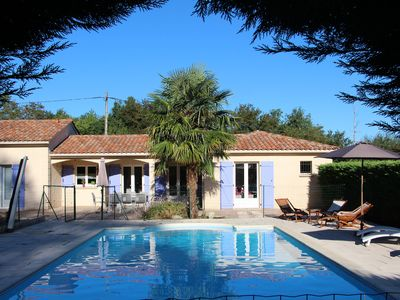 Photo for Nice holiday home, located in the most beautiful part of the Périgod Noir