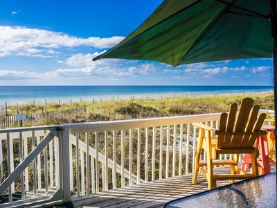 Photo for 3-nt SPEC 7/27-30: LABOR DAY OPEN: LOADED DIRECT BEACH FRONT END UNIT