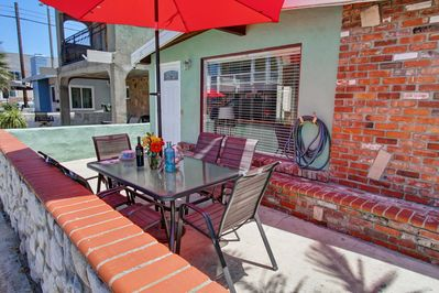 Exclusive patio at your home by the sea! Secure WiFi throughout house and patio!