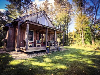 Photo for Romantic Private Vermont Cottage, dogs welcome
