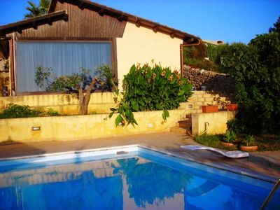 Photo for 7 bedroom Villa, sleeps 16 with Pool, Air Con, FREE WiFi and Walk to Shops