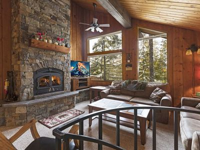Photo for Wonderful 2 bedroom with hot tub and pool access and whitefish Lake shared beach