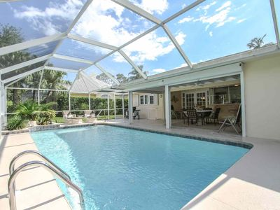 Photo for Coquina Sands-1 story pool home-2 Blocks to Naples Beach Hotel/Gulf of Mexico-Fantastic Location!