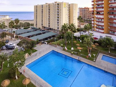 Photo for Beachfront apartment with direct access to the beach and Puerto Marina