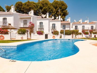 Photo for 3 bedroom Villa, sleeps 6 with Pool, Air Con, WiFi and Walk to Beach & Shops