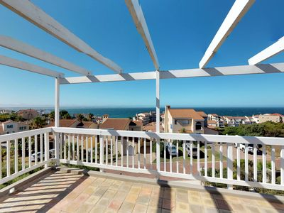 Photo for Gorgeous home w/ big deck, ocean views - close to Cape St. Francis