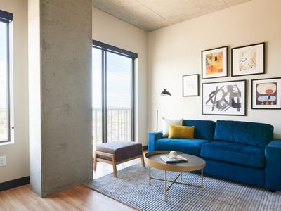 Photo for Sonder | Mill Ave | Stylish 1BR + Laundry