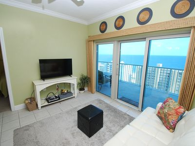 Photo for Crystal Tower 1303 - Amazing Gulf View and Amenities! Book your Fall vacay today!