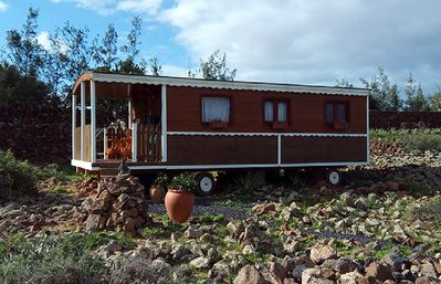 Photo for Large caravan 36m2 for 1 to 2 people in lajares