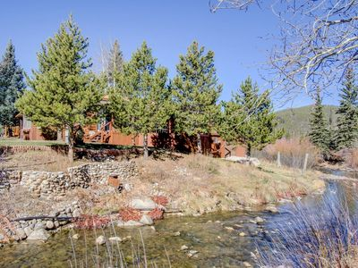 Photo for Rustic River Chalet, Close to Skiing, Pet Friendly Tiny House