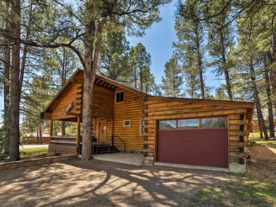 Photo for 'The Wolf Den' Cabin w/ Pagosa Lake & Mtn. Views!