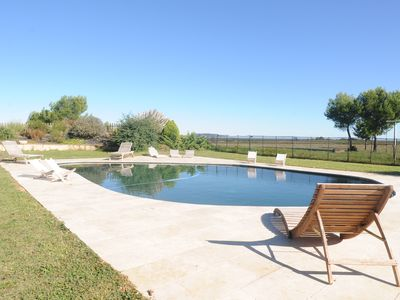 Photo for Lodging in house of master located at the heart of the vines in Marseillan
