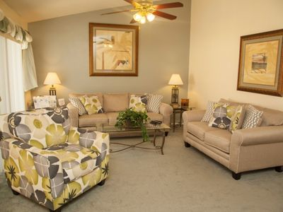 Photo for Enjoy Orlando With Us - Indian Ridge - Feature Packed Relaxing 4 Beds 2 Baths  Pool Villa - 3 Miles To Disney