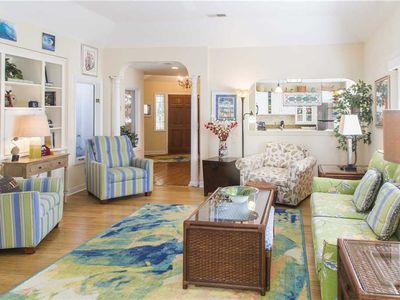 Photo for 80 Kingston Dunes Rd.   Sun Room   Updated Kitchen   Wooded & Partial Golf Course View   Shipyard