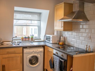 Photo for Apartment in central Eastbourne with private parking