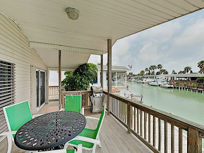 Photo for Bayside Getaway w/ Pools, Tennis, Golf, Private Dock - 10 Mins to South Padre