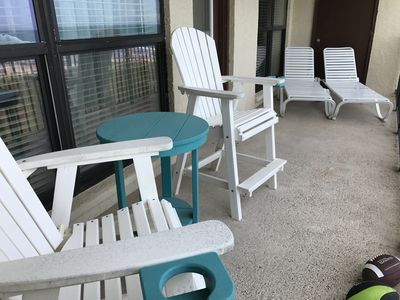 Photo for Saida 1 Beautiful Beach Front 5th floor Condo excellent condition right on beach