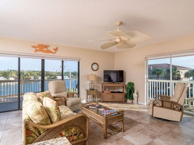 Photo for Gorgeous 3rd floor corner Condo with Views of the Intracoastal and the Gulf of Mexico