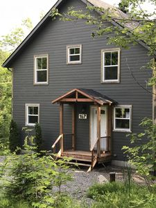 Photo for Cottage in the Laurentians next to a stream and a lake - Exode au Ruisseau