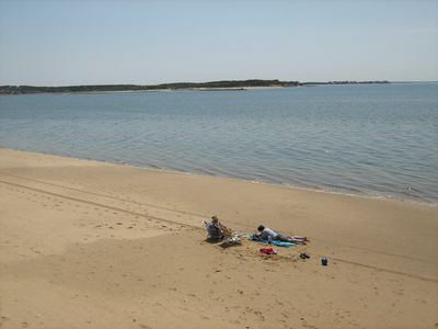 Photo for A premium location on Wellfleet Harbor with a 400' private beach....