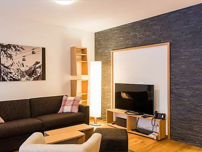 Photo for One bedroom Apartment, sleeps 4 in Gerschnialp with WiFi
