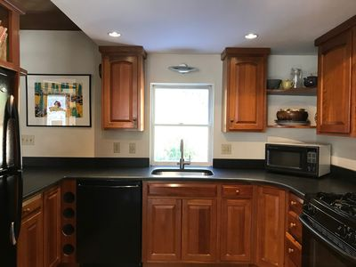 Kitchen with new  granite counters