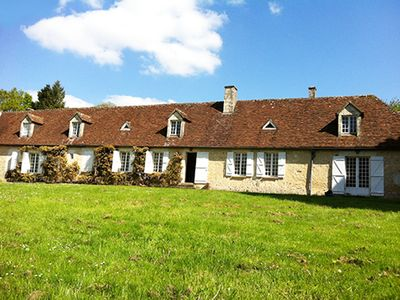 Photo for Large family house with pool in the heart of Perche, Less than 2 hours from Paris