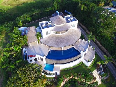 Photo for Luxury Art Filled Villa with Pool and Ocean Views - Martello House