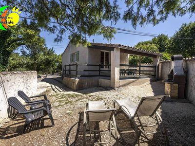 Photo for Modern detached gite with swimming pools in gites village