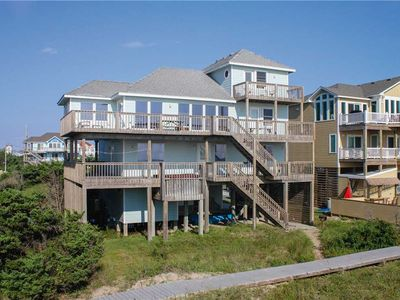 Photo for OCEANFRONT in Avon w/HotTub, RecRoom w/PoolTable