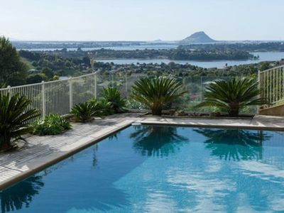 Photo for Spectacular views with swimming pool